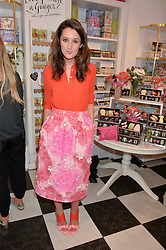 ROSANNA FALCONER at a party to launch Biscuiteers Fashion Biscuit Collection inspired by Alice Naylor-Leyland's wardrobe held at Biscuiteers, 194 Kensington Park Road, London W11 on 23rd June 2015.