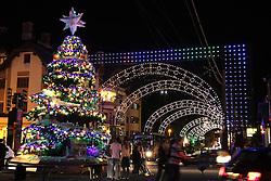 Natal Luz em Gramado. Na foto a decoração de natal pelas ruas de Gramado. Foto: Marcos Nagelstein