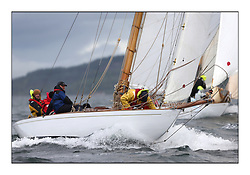 Day five of the Fife Regatta, Race from Portavadie on Loch Fyne to Largs. <br /> <br /> The Truant, Ross Ryan, GBR, Gaff Cutter 8mR, Wm Fife 3rd, 1910<br /> <br /> <br /> * The William Fife designed Yachts return to the birthplace of these historic yachts, the Scotland's pre-eminent yacht designer and builder for the 4th Fife Regatta on the Clyde 28th June–5th July 2013<br /> <br /> More information is available on the website: www.fiferegatta.com