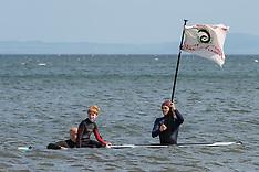 Surfers Against Sewage Paddle Out Protest, Edinburgh, 12 June 2021