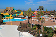 Swimming pool at Origo Mare hotel water park, Majanicho, Fuerteventura, Canary Islands, Spain