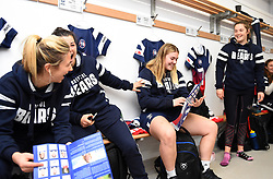Bristol Bears Women in high spirits before facing Harlequins Ladies in Tyrrells Premier 15's - Mandatory by-line: Paul Knight/JMP - 01/12/2018 - RUGBY - Shaftesbury Park - Bristol, England - Bristol Bears Women v Harlequins Ladies - Tyrrells Premier 15s