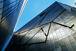 Exterior of Jewish Museum in Kreuzberg Berlin Germany; architect Daniel Libeskind