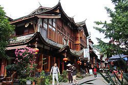 June 2, 2017 - Chengdu, Chengdu, China - Chengdu, CHINA-May 25 2017: (EDITORIAL USE ONLY. CHINA OUT)..Scenery of Tai'an Ancient Town in Chengdu, southwest China's Sichuan Province. (Credit Image: © SIPA Asia via ZUMA Wire)