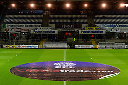 EFL Checkatrade Trophy Half Way Line Pitch Covers - Mandatory by-line: Ryan Hiscott/JMP - 05/03/2019 - FOOTBALL - Memorial Stadium - Bristol, England - Bristol Rovers v Sunderland - Checkatrade Trophy