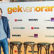 NLD/Amsterdam//20170419 - Castpresentatie film Gek op Oranje, producent Frans van Gestel