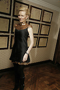 Cate  Blanchett, UK premiere for Pedro Almodovar's Volver. Curzon Mayfair and afterwards at the Mirabelle. London. 3 August 2006. ONE TIME USE ONLY - DO NOT ARCHIVE  © Copyright Photograph by Dafydd Jones 66 Stockwell Park Rd. London SW9 0DA Tel 020 7733 0108 www.dafjones.com
