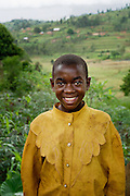 A child in Butare, Rwanda on March 25, 2013. The Simbi Area Development Program (ADP) is one of several new a new ADP initiatives in Rwanda led by the international nonprofit World Vision. Area Development Programs provide developmental resources for communities to promote long-term, sustainable improvements to the economic and physical well being of a community.