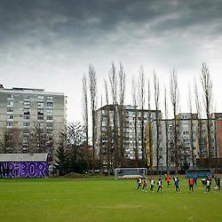 20140104: SLO, Football - Practice session of NK Maribor