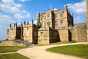 Bolsover Castle, Derbyshire, England founded in the 12th century by the Peverel family now an English Heritage property.