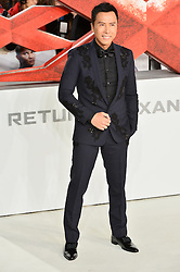 © Licensed to London News Pictures. 10/12/2017. DONNIE YEN attends the European film premiere of xXx: Return of Xander Cage. London, UK. Photo credit: Ray Tang/LNP