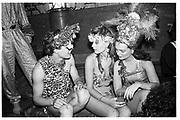 Hugh Grant,Marina Killery and Lulu rivett-Carnac.  Piers Gaveston Ball. Park Lane Hotel London. 13 May 2001. © Copyright Photograph by Dafydd Jones 66 Stockwell Park Rd. London SW9 0DA Tel 020 7733 0108 www.dafjones.com