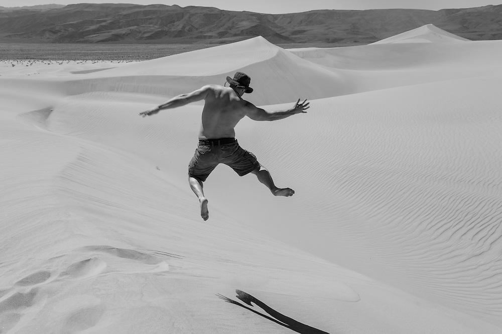 Chris Kelly. Death Valley National Park.  California.