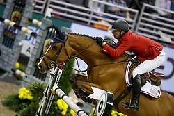 Jacobs Charlie, USA, Cassinja S<br /> Longines FEI World Cup Jumping Final III, Omaha 2017 <br /> © Hippo Foto - Dirk Caremans<br /> 02/04/2017