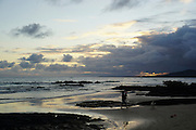 sunset Photographed in the Galapagos Island, Ecuador