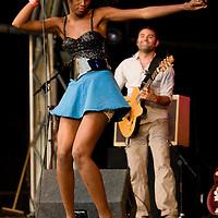 Oi Va Voi performing live at the Summer Sundae Weekender 2009, De Montfort Hall, Leicester, UK, 2009-08-14