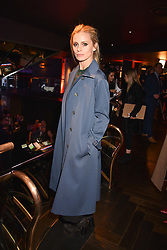 Laura Bailey at the Costa Book Awards 2017 held at  Quaglino's, 16 Bury Street, London England. 30 January 2018.