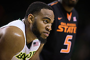 WACO, TX - JANUARY 5: Rico Gathers #2 of the Baylor Bears looks on against the Oklahoma State Cowboys on January 5, 2016 at the Ferrell Center in Waco, Texas.  (Photo by Cooper Neill/Getty Images) *** Local Caption *** Rico Gathers