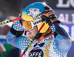 18.12.2016, Grand Risa, La Villa, ITA, FIS Ski Weltcup, Alta Badia, Riesenslalom, Herren, 2. Lauf, im Bild Felix Neureuther (GER) // Felix Neureuther of Germany reacts after his 2nd run of men's Giant Slalom of FIS ski alpine world cup at the Grand Risa race Course in La Villa, Italy on 2016/12/18. EXPA Pictures © 2016, PhotoCredit: EXPA/ Johann Groder