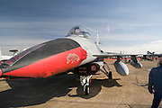 Arkansas, AR, USA, Airpower Arkansas 2006 was held at the Little Rock Air Force base November 2006 participation of the Air Force, Navy, National Guard and civilian aerobatics aviators. Lockheed Martin F-16 Fighting Falcon multirole fighter