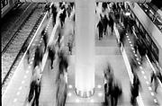 Rush-hour public transport