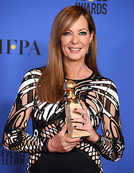 Ewan McGregor at the 75th Annual Golden Globe Awards held at the Beverly Hilton Hotel on January 7, 2018 in Beverly Hills, CA ©Tammie Arroyo-GG18/AFF-USA.com. 07 Jan 2018 Pictured: Allison Janney. Photo credit: MEGA TheMegaAgency.com +1 888 505 6342