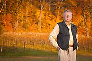 Kip Kumler, Turtle Creek Winery owner in vineyard