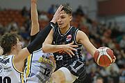 Taylor Hawks Hyrum Harris in action in the Sal's NBL Basketball match, Taylor Hawks v EnviroNZ Bulls, Pettigrew Green Arena, Napier, Saturday, June 26, 2021. Copyright photo: Kerry Marshall / www.photosport.nz