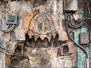 Electricity and Mihrab, Damascus, Syria