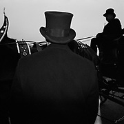 "The driver of the horse drawn carriage carrying the casket with the remains of ""Mayor For Life"" Marion Barry in the Washington Highlands neighbourhood before he is driven through all 8 Districts in the city, Washington D.C., USA.<br /> <br /> (Credit Image: © Louie Palu/ZUMA Press)"