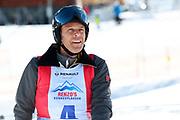 Urs Meier, Teilnehmer beim Renzo's Schneeplausch vom 23. Januar 2016 in Vella, Gemeinde Lumnezia.