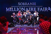 The opening show at the Millionaire Fair in Moscow. The event has become an annual fixture, attracting thousands of would-be and existing Russian millionaires to view and purchase a wide range of luxury goods. This year however the fair was much smaller, an indication of how the formerly booming Russian economy has been hit by the world financial crisis.