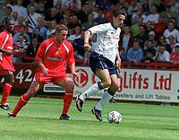 Fotball. Stevenage v Tottenham. 21.07.2002.<br /> Milenko Acimovic, Tottenham.<br /> Foto: Andrew Cowie, Digitalsport