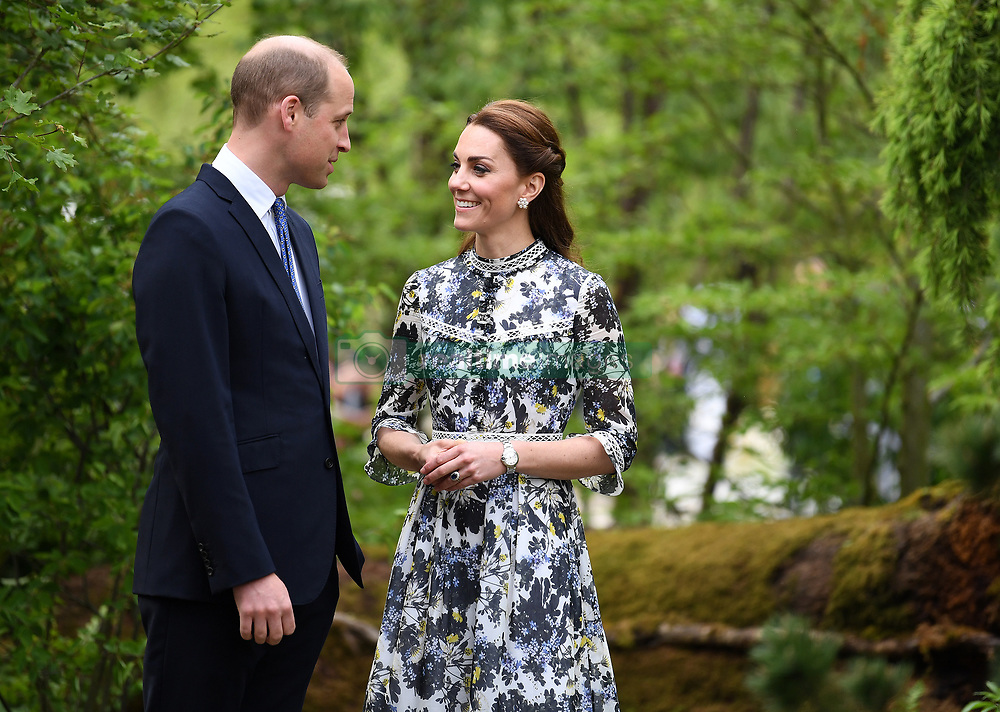 The Duchess of Cambridge attends the Chelsea Flower Show at the Royal Hospital Chelsea, London, UK, on the 20th May 2019. 20 May 2019 Pictured: Members of the Royal Family attend the Chelsea Flower Show at the Royal Hospital Chelsea, London, UK, on the 20th May 2019. Photo credit: James Whatling / MEGA TheMegaAgency.com +1 888 505 6342