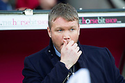Doncaster Rovers Manager Grant McCann during the The FA Cup 5th round match between Doncaster Rovers and Crystal Palace at the Keepmoat Stadium, Doncaster, England on 17 February 2019.