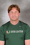 2011 Miami Hurricanes Head Shots