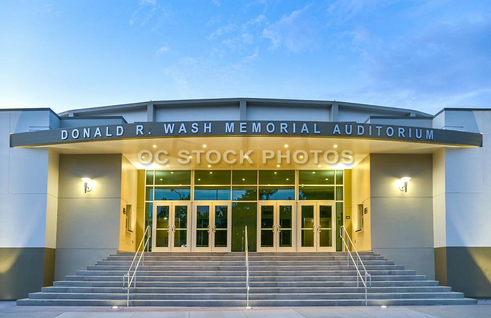 Donald R. Wash Memorial Auditorium at Garden Grove High School