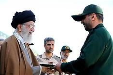 Tehran: Ayatollah Ali Khamenei Attends A Ceremony - 10 May 2017