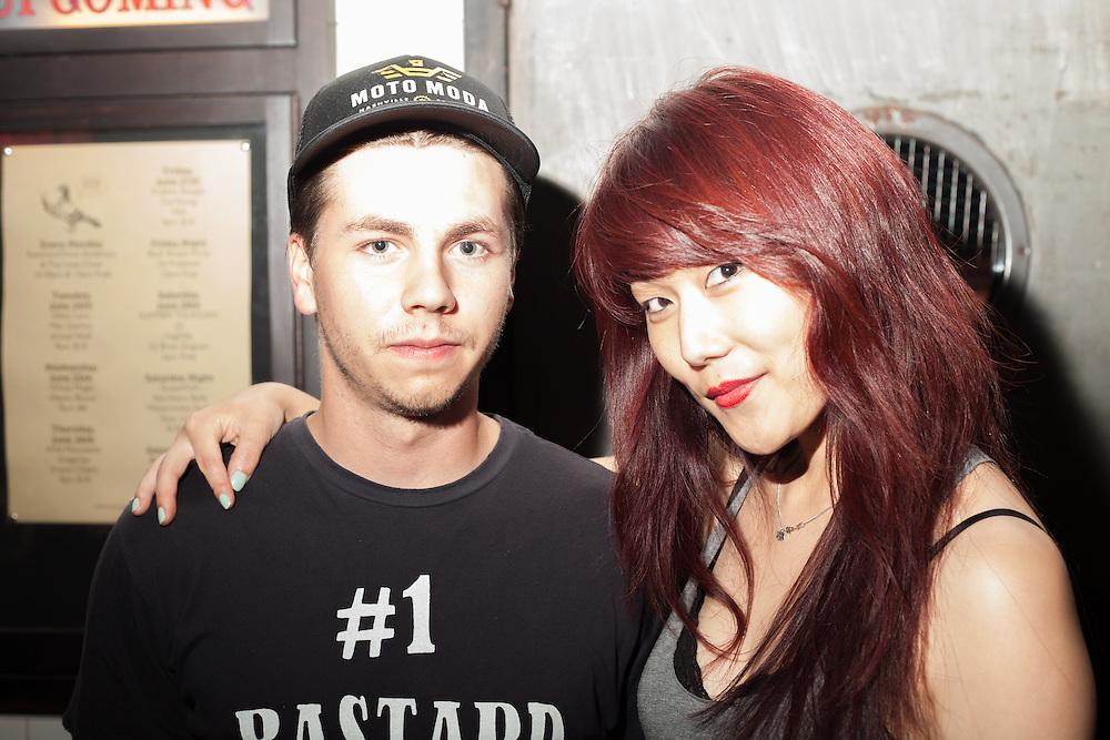 Nikki Lane and Max Gomez at Union Pool, Brooklyn NY  - June 2014