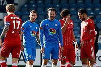 Harry Cardwell. Stockport County FC 0-0 Bromley FC. Vanarama National League. Edgeley Park. 5.4.21