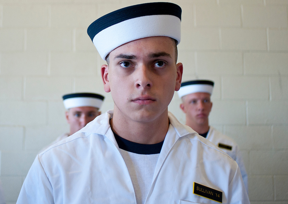 """Approximately 1,230 young men and women arrived at the U.S. Naval Academy's Alumni Hall, Thursday, July 1, for Induction Day to begin their new lives as """"plebes"""" or midshipmen fourth class (freshmen). """"I-Day"""" culminates when the members of the Class of 2014 take the oath of office at a ceremony at 6 p.m. in Tecumseh Court, the historic courtyard of the Bancroft Hall dormitory. Over 17,400 young men and women applied to be members of the Naval Academy Class of 2014 - a record for USNA."""
