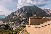 dall'Italia alla Francia  a piedi: da Monginevro a Briancon, l'arrivo a Briancon