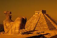 Sculpture near Pyramid