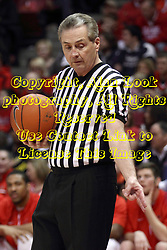 14 February 2015:   Terry Davis during an NCAA MVC (Missouri Valley Conference) men's basketball game between the Wichita State Shockers and the Illinois State Redbirds at Redbird Arena in Normal Illinois