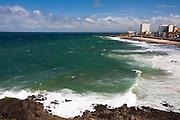Salvador_BA, Brasil...Litoral de Salvador, capital da Bahia. Na foto a Praia da Barra...Coast of Salvador, capital of Bahia. In the photo the Praia da Barra...Foto: JOAO MARCOS ROSA / NITRO