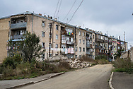Apartment building in Shushi, Nagorno-Karabakh<br /><br />(September 23, 2016)