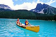 Canoeing, Lake Louise, Alberta, Canada