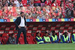 October 7, 2018 - Lisbon, Portugal - Porto's head coach Sergio Conceicao during the Portuguese League football match SL Benfica vs FC Porto at the Luz stadium in Lisbon on October 7, 2018. (Credit Image: © Pedro Fiuza/NurPhoto/ZUMA Press)
