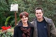 Roland and Anne-Marie Coustal Domaine Terres Georges. In Castelnau d'Aude. Minervois. Languedoc. Owner winemaker. France. Europe.