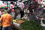 Israel, old city of Jerusalem, The street market in the narrow alleys